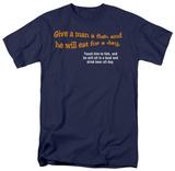 Give a Man a Fish T-shirts
