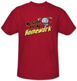 Sister Ate My Homework T-shirts
