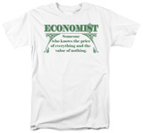 Economist: Knows the Price T-shirts