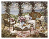 Afternoon Tea Print by Janet Kruskamp