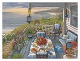Sea Side Inn Kunstdrucke von Janet Kruskamp