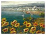 Sunflower Harbor Poster von  Lawson