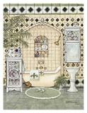 Bath IV Poster von Janet Kruskamp