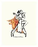 Tango Argentina Plakater af Misha Lenn