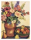 Garten der ProvenceIII Poster von Suzanne Etienne