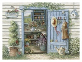 Welcome to My Garden Poster by Janet Kruskamp