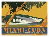 Miami to Cuba Posters by David Grandin