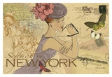 New York Posters af Maria Woods