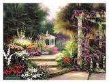 Emerald Garden Art by Egidio Antonaccio