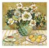 Lemon Floral Affiches par Suzanne Etienne