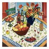 Table View Pósters por Suzanne Etienne
