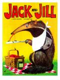 Anteater's Lunch - Jack and Jill, September 1968 Giclee Print by  Lesnak