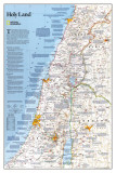 National Geographic Holy Land Poster