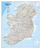 National Geographic Ireland Classic Style Plakat