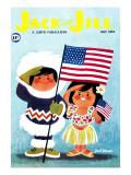 Alaska and Hawaii - Jack and Jill, July 1959 Giclee Print by Jack Weaver