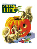 Fall is Here - Child Life, October 1946 Giclee Print by Keith Ward