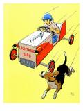 Matchbox Race - Jack and Jill, July 1958 Giclee Print by  IBJ