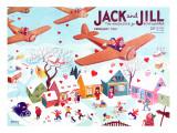Valentine's  - Jack and Jill, February 1941 Lámina giclée por Michael Berry