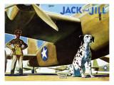 Military Dog - Jack and Jill, November 1942 Giclee Print by Manning de V. Lee