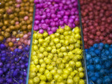 Different Kinds of Anise Seeds; Belo Horizonte Indoor Market, Minas Gerais, Brazil Fotografie-Druck von Steve Outram