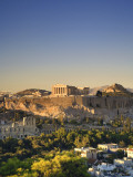 Greece, Attica, Athens, the Acropolis and Parthenon Photographic Print by Michele Falzone