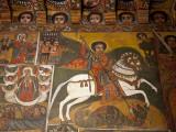 Ethiopia, Gondar, Debre Birhan Selassie Church Fotografie-Druck von Niels Van Gijn
