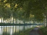 France, Languedoc-Rousillon, Canal Du Midi Photographic Print by Katie Garrod