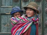 Peru, a Young Peruvian Girl Fotografie-Druck von Nigel Pavitt