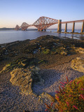 The Forth Rail Bridge, Firth of Forth, Edinburgh, Scotland; Fotografisk tryk af Paul Harris