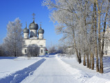 St; Transfiguration Cathedral (1670), Belozersk, Vologda Region, Russia Fotografie-Druck von Ivan Vdovin