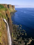 Kilt Rock, Isle of Skye, Scotland Fotografisk tryk af Paul Harris