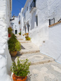 Town of Frigiliana, White Town in Andalusia, Spain Fotografie-Druck von Carlos Sánchez Pereyra