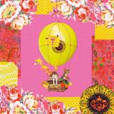 Hot-Air Balloon Trip Kunstdrucke von  Mademoiselle Tralala