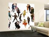 """""""Different Dancing Styles,"""" November 4, 1961 Bildtapet (stor) av Thornton Utz"""