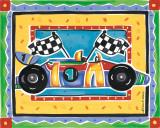 Race Car Art by Alison Jerry