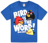 Youth: Angry Birds - Bird Word Tshirts