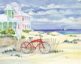 Beach Cruiser Cottage I Kunstdrucke von Paul Brent