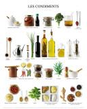 Les Condiments Kunstdrucke