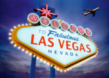 Welcome to Las Vegas Poster by Matthias Kulka