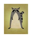 The Artful Raccoon Giclee Print by John Golden