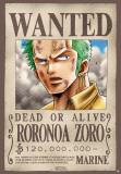 One Piece -Wanted Zoro-One Sheet Kunstdrucke