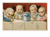 Crazed Babies with Condensed Milk Poster