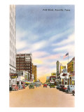 Polk Street, Amarillo, Tejas Arte