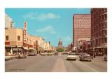 Straßenbild, Austin, Texas Poster