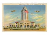 Randolph Air Field, San Antonio, Texas Premium gicléedruk