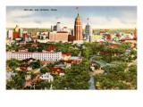 Skyline, San Antonio, Texas Poster