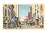 Gay Street, Knoxville, Tennessee Kunstdrucke