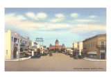 Highland Avenue, Marfa, Texas Pósters
