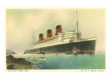 Cunard-Ozeandampfer RMS Queen Mary Poster