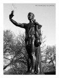 Statue of the Tennessee Volunteer Premium Giclee Print